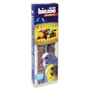 Barrita de frutas para periquitos Biazoo