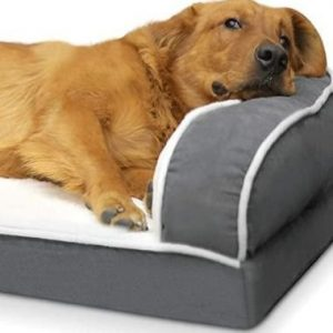 Cama para perro grande lavable pecute