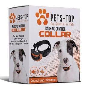 Collar eléctrico antiladridos para perros Pets Top