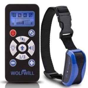 Collares de adiestramiento eléctrico Wolfwill