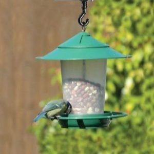 Comedero de pájaros estilo farol Garland