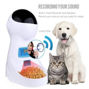 Comedero para perros automático electrónico