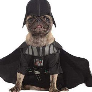 Disfraz para perro Darth Vader