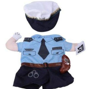 Disfraz para perro de policía