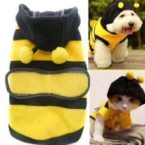 Disfraz para perro estilo abeja