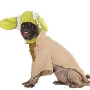 Disfraz para perro Maestro Yoda
