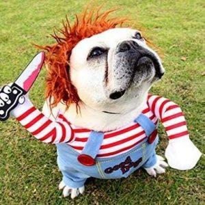 Disfraz para perro muñeco diabólico