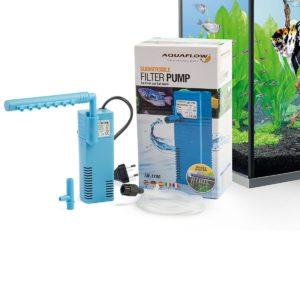 Filtros exteriores con flujo de agua ajustable