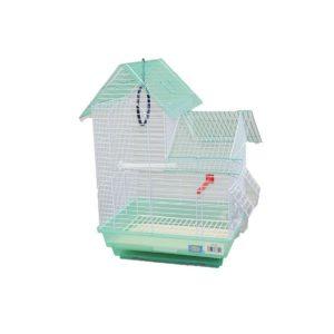 Jaula para ninfas con doble techo