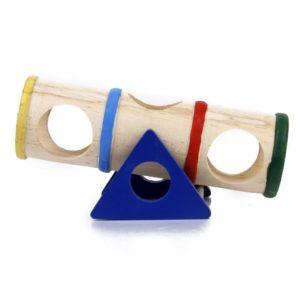Juguete para hámster Balancín Multicolor de Madera