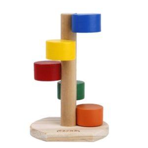 Juguete para hámster escalera de colores