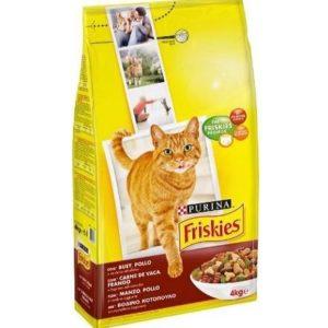 Pienso para gatos adultos Purina Friskies