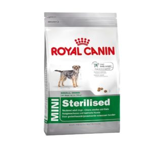 Pienso para perros esterilizados mini