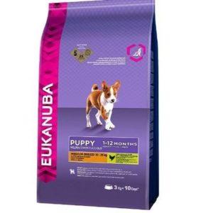 Piensos para cachorros Eukanuba