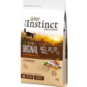 Piensos para gatos esterilizados True Instinct