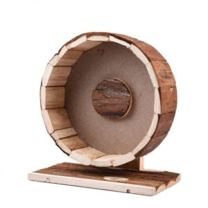 Rueda de madera para hámster