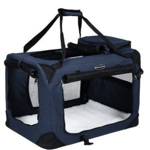 Transportín plegable para perros Songmics