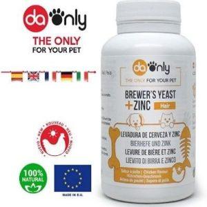 Vitaminas para el pelo de perros Daonly