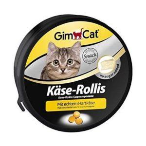Vitaminas para gatos con sabor a queso
